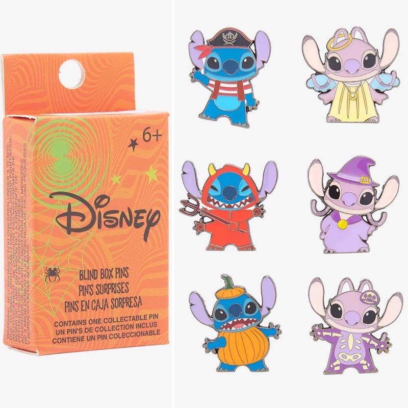 Lilo & Stitch Halloween 2021 Blind Box Disney Pin Set - Hot Topic