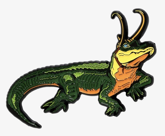Marvel Alligator Loki Pin - BoxLunch