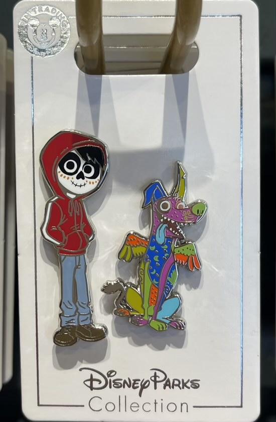 Miguel & Dante Coco Disney Pin Set