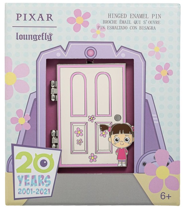 Monsters, Inc. 20th Anniversary Loungefly Disney Pin