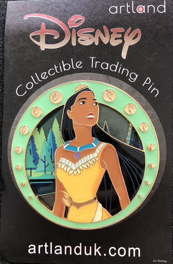 Pocahontas Neo Nouveau LE 300 ArtLand Pin