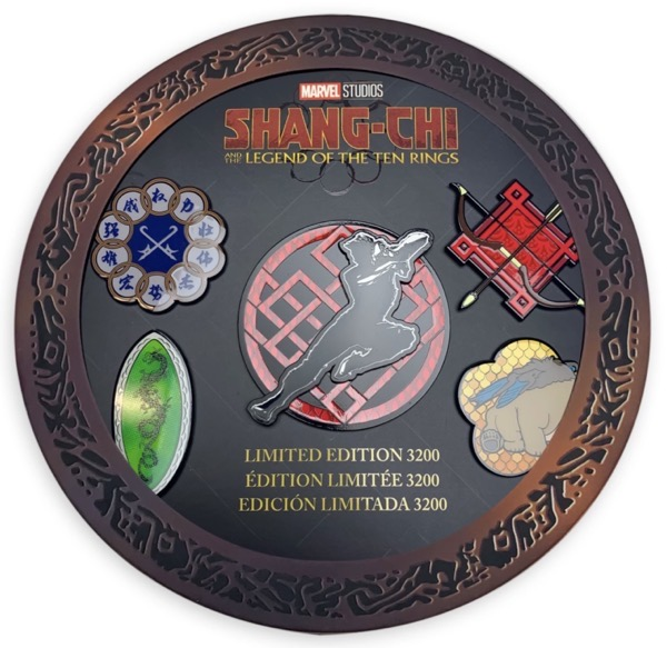 Shang-Chi and the Legend of the Ten Rings Pin Set