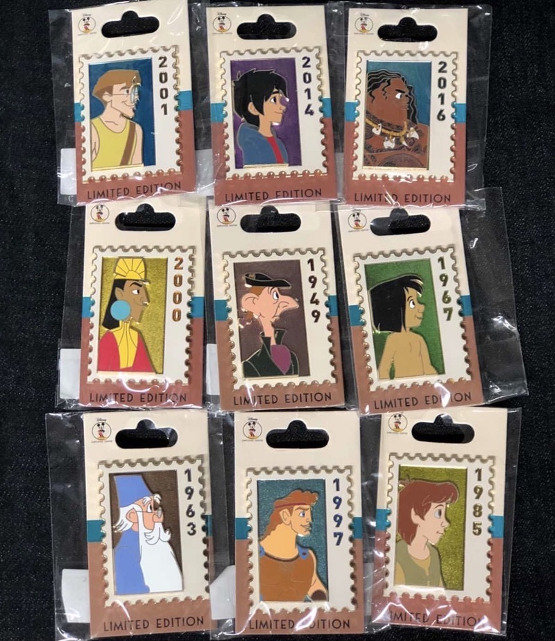 Stamp Pin Collection Series 2 - Disney Employee Center