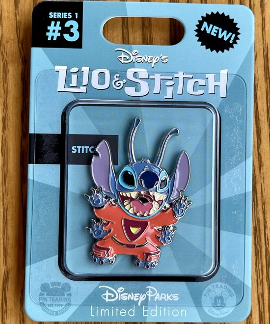 Stitch Toy Action Figure Disney Pin
