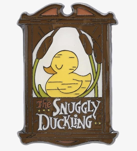 Tangled The Snuggly Duckling Hot Topic Pin