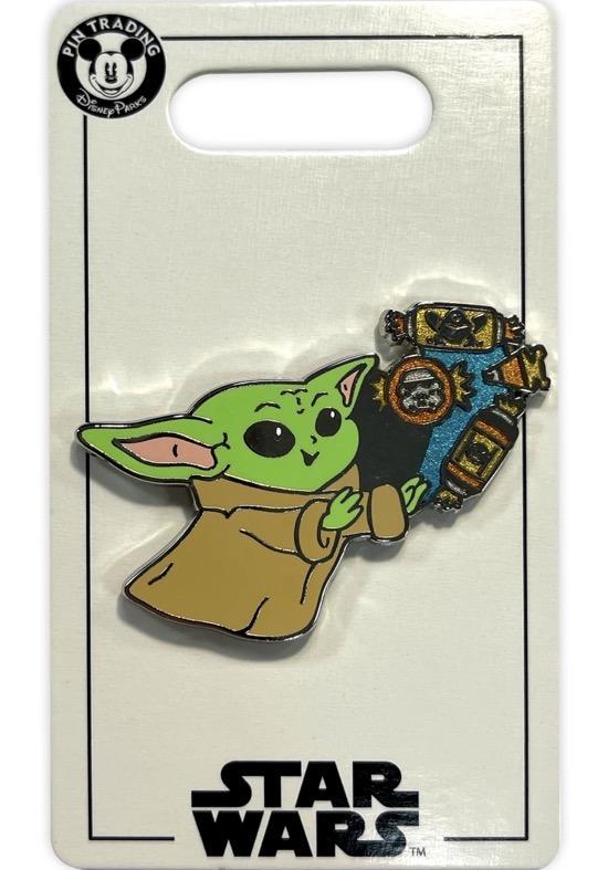 The Child Star Wars Halloween 2021 Disney Pin
