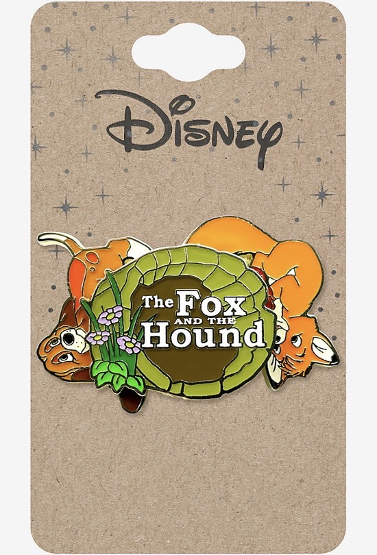 The Fox and the Hound Logo Spinner BoxLunch Disney Pin