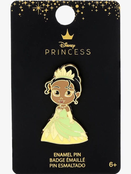 Tiana Chibi Disney Pin at BoxLunch