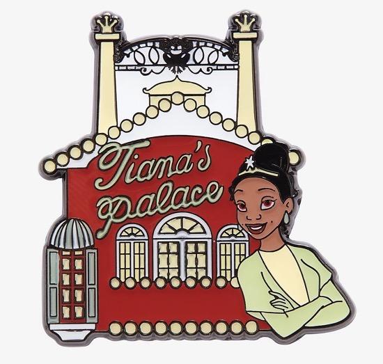 Tiana's Palace Princess and the Frog Disney Pin