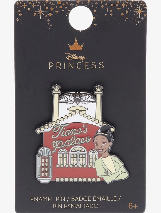 Tiana's Palace Princess and the Frog Hot Topic Disney Pin