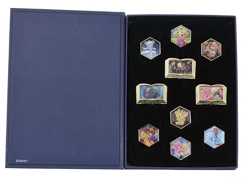 UniBEARsity 10th Anniversary Crystal Art Pin Set