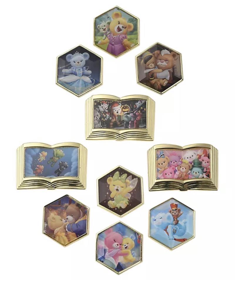 UniBEARsity 10th Anniversary Crystal Art Pins