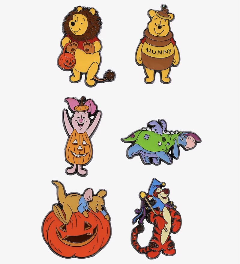 Winnie the Pooh Halloween Blind Box Pins at Hot Topic