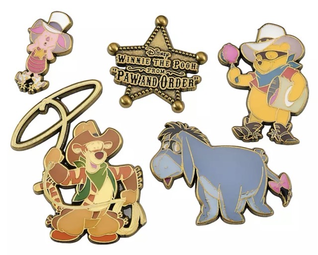 Winnie the Pooh Paw and Order Pin Set
