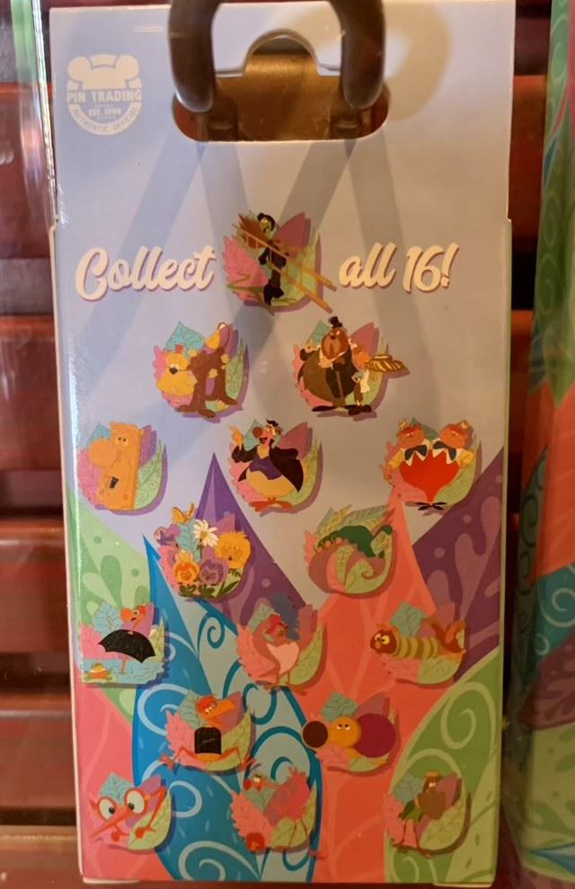 Alice in Wonderland 70th Anniversary Mystery Pin Set - Disney Parks