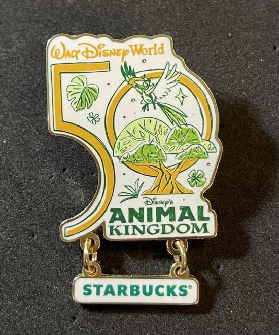 Animal Kingdom Starbucks Been There Pin