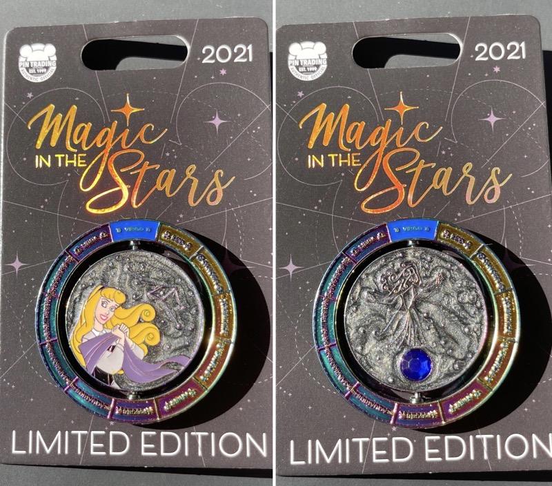 Aurora Magic in the Stars Disney Pin