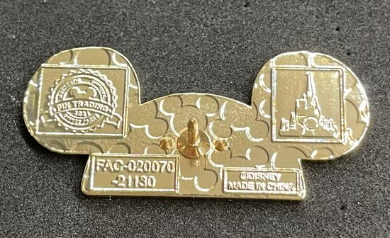 Back of EARidescent Mickey Ear Hat Pin