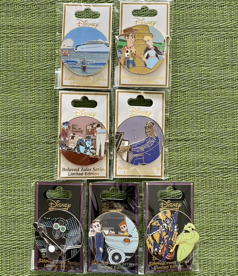 Beloved and Dark Tales DSSH Pin Releases