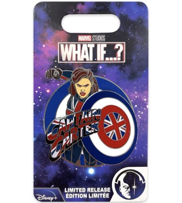 Captain Carter Marvel What If…? Limited Release Pin