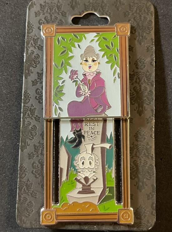 Constance Hatchaway Portrait Haunted Mansion BoxLunch Disney Pin