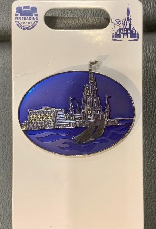 Contemporary Resort Disney Pin - Vault Collection