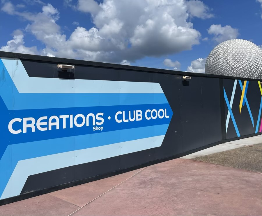 Creations & Club Cool at EPCOT