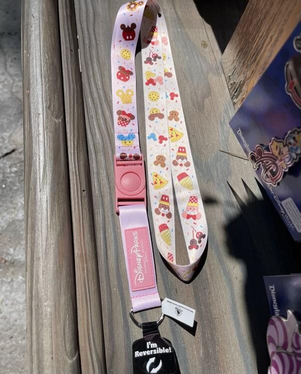 Disney Treats Pin Trading Lanyard