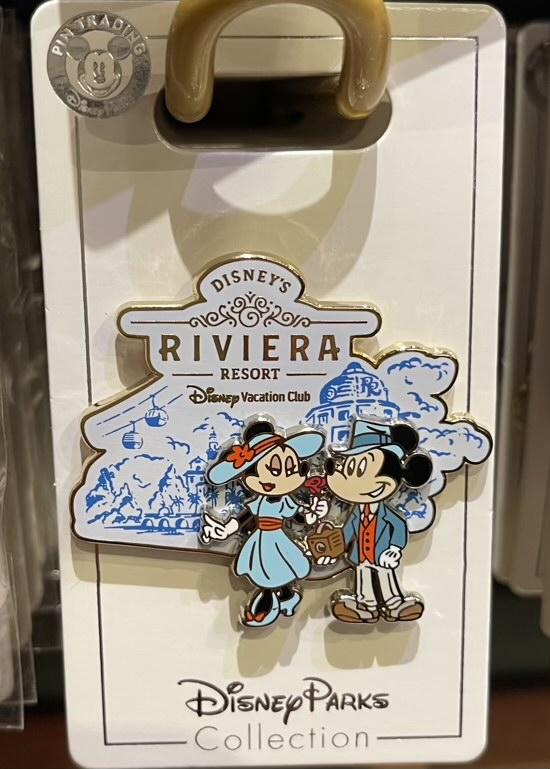 Disney's Riviera Resort Mickey & Minnie 2021 Pin
