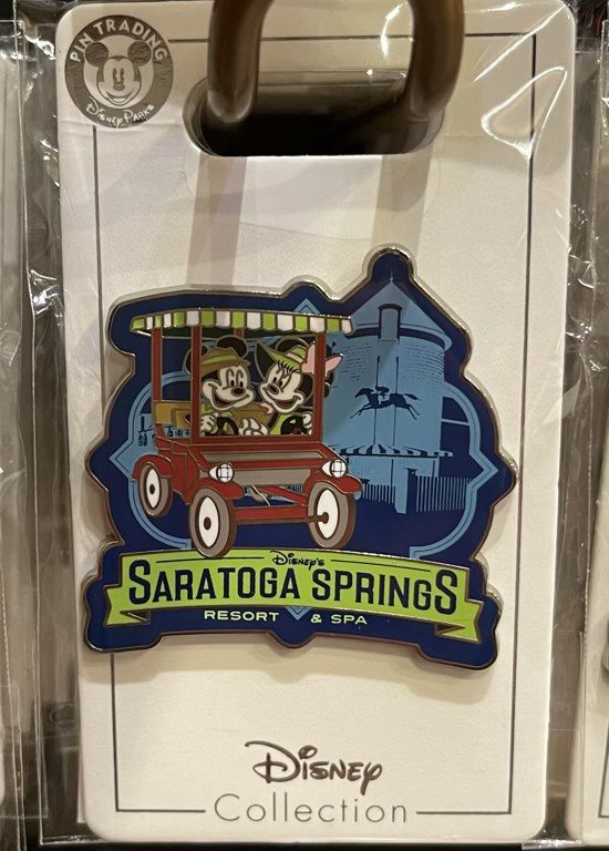 Disney's Saratoga Springs Resort 2021 Pin