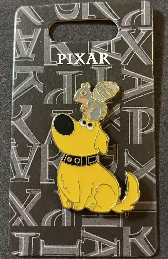 Dug & Squirrel Disney Pin