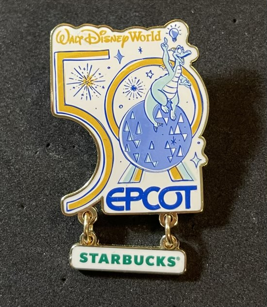 EPCOT Starbucks Been There Pin