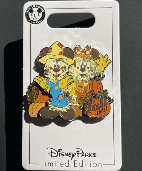Fall 2021 Disney Pin