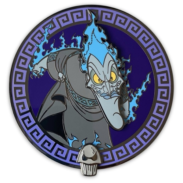 Hades Lord of the Underworld Loungefly Disney Pin