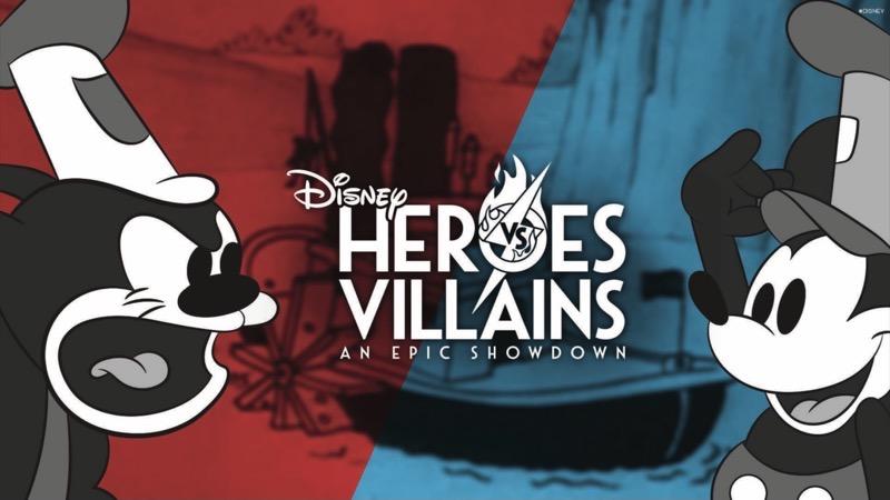 Heroes Vs. Villains Disney Pin Event Catalog