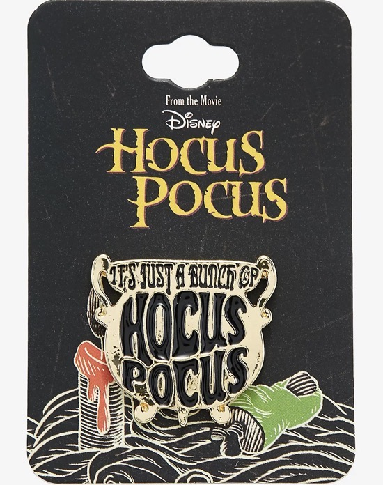 It's Just a Bunch of Hocus Pocus Cauldron Disney Pin at BoxLunch