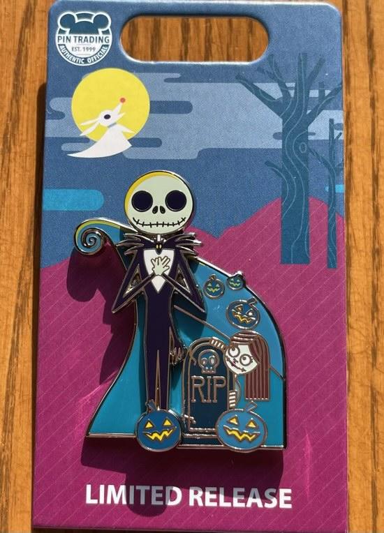 Jack Skellington & Sally Halloween 2021 Disney Pin
