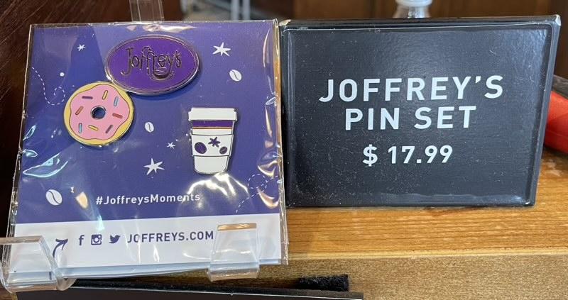 Joffrey's Coffee Pin Set - Disney Springs