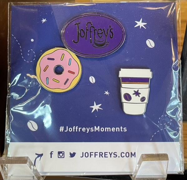 Joffrey's Coffee Pin Set