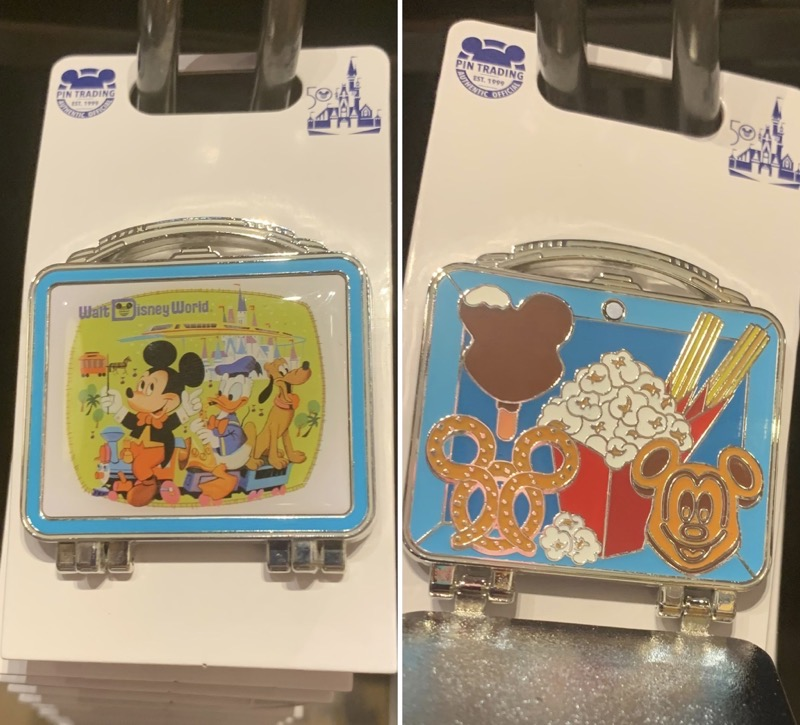 Lunchbox Disney Pin - Vault Collection