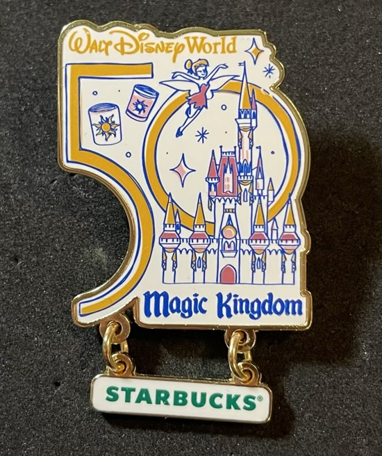 Magic Kingdom Starbucks Been There Pin