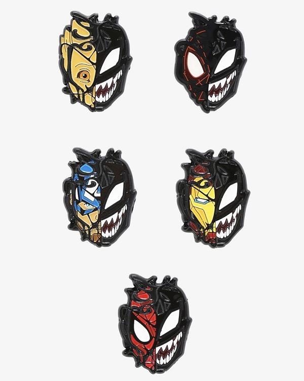 Marvel Spider-Man Maximum Venom Blind Box Pins