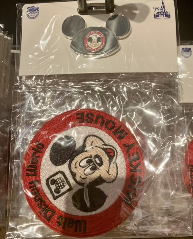 Mickey Ear Hat Pin & Patch Set - Vault Collection