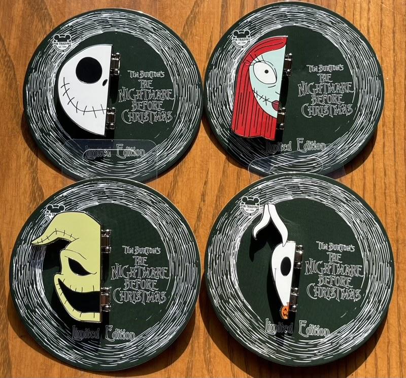 Nightmare Before Christmas 2021 Hinged Disney Pin Series