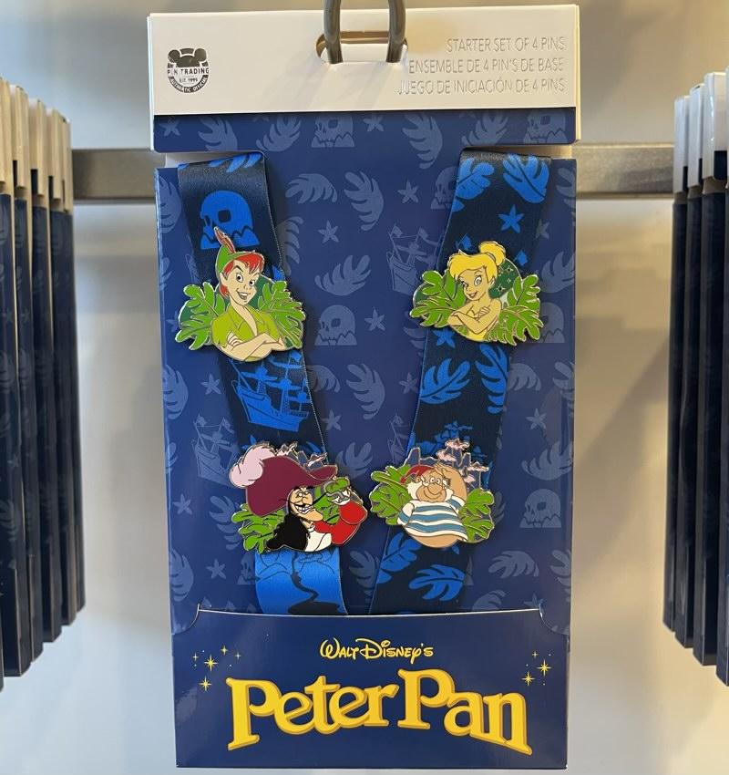 Peter Pan Pin Trading Starter Set