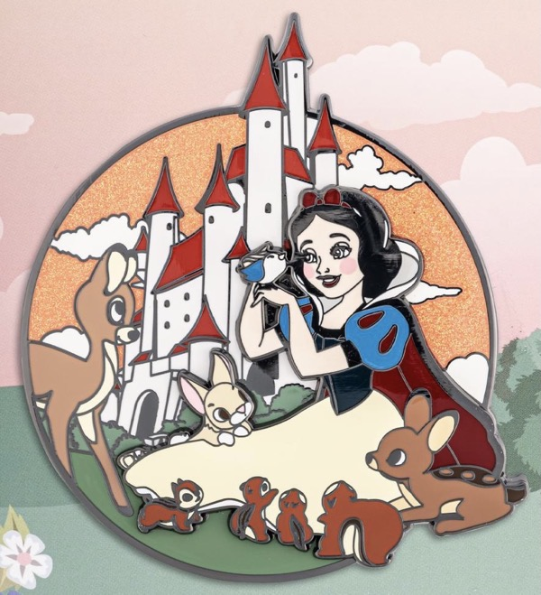 Snow White Glitter LE 1,000 Loungefly Disney Pin