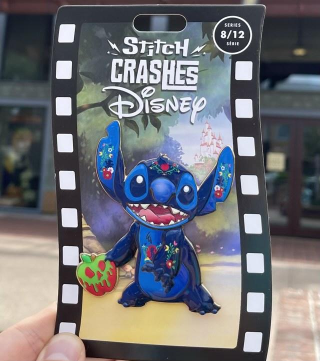 Snow White - Stitch Crashes Disney Pin Series 8