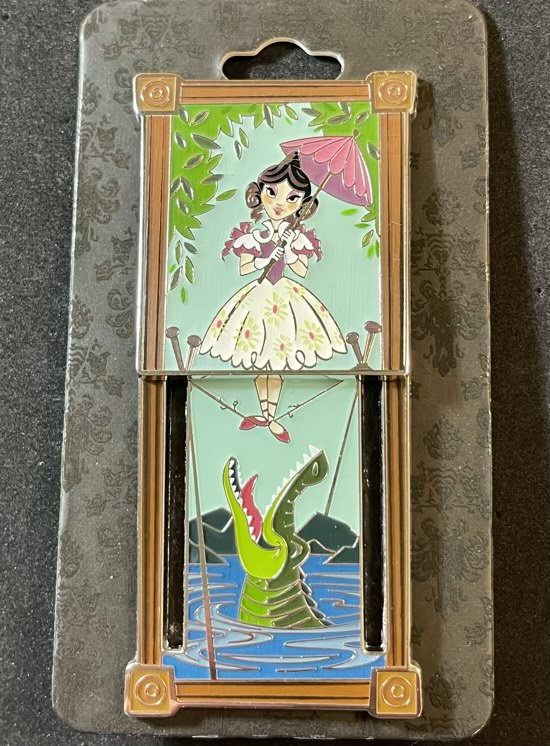 Tightrope Girl Portrait Haunted Mansion BoxLunch Disney Pin