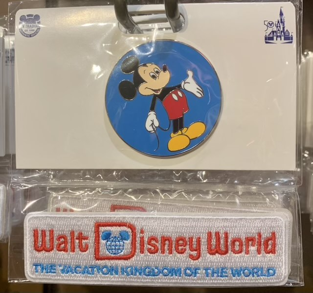 Vacation Kingdom Pin & Patch Set - Vault Collection