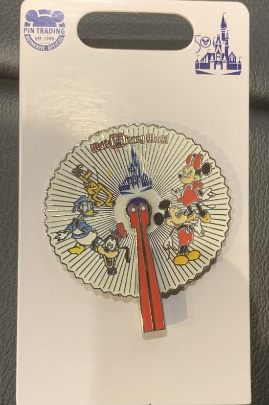 WDW Fan Disney Pin - Vault Collection